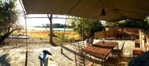 Okavango campsite